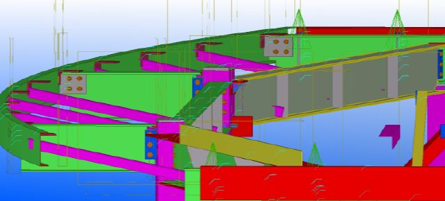 Tekla Rolled Beam Connections