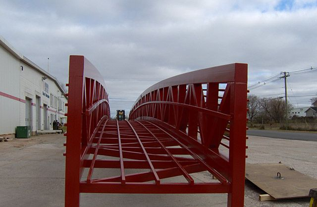 120' Pedestrian Bridge Summerside, PE